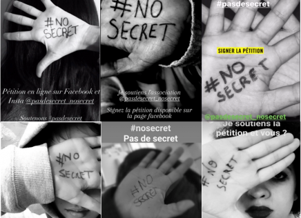 Pourquoi inonder vos story de photos avec le hashtag #nosecret #nonalaprescription ?